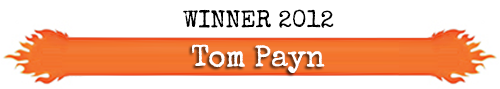 Winner - Ring O' Fire 2012 - Tom Payn